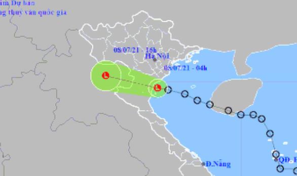 Áp thấp nhiệt đới suy yếu, Bắc Bộ mưa to, Nam Trung Bộ, Tây Nguyên và Nam Bộ mưa rào - Ảnh 1.
