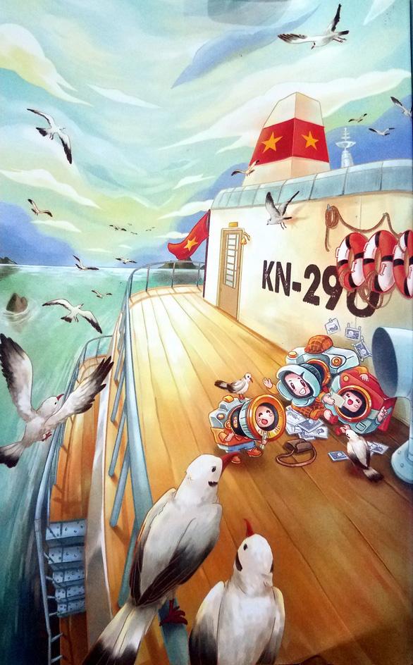 Cà Nóng chu du Trường Sa - truyện thiếu nhi trên hành trình biển đảo - Ảnh 4.