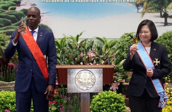 11 nghi phạm ám sát tổng thống Haiti đột nhập trốn trong cơ quan ngoại giao Đài Loan - Ảnh 3.