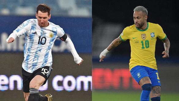 Messi sống mái với Neymar - Ảnh 1.