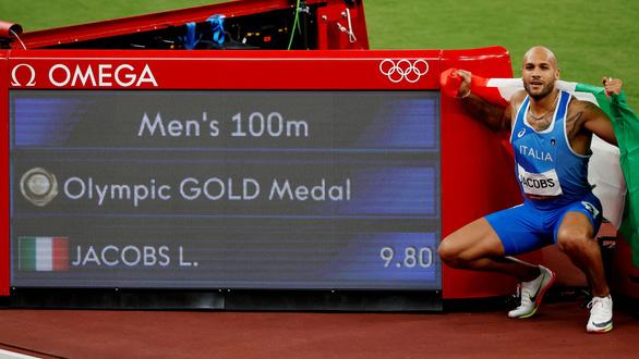 VĐV Ý vô địch nội dung chạy 100m tại Olympic 2020 - Ảnh 7.