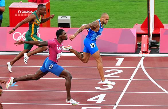 VĐV Ý vô địch nội dung chạy 100m tại Olympic 2020 - Ảnh 6.