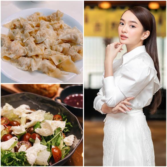 Kaity Nguyễn chia sẻ bí quyết làm hoành thánh, nui cá hồi xốt kem cà chua - Ảnh 1.