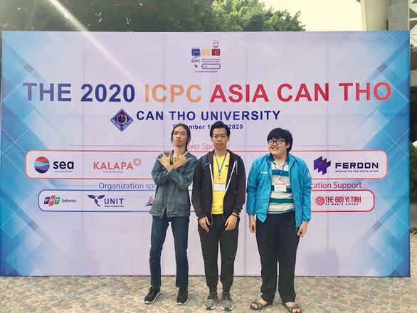 3 trường đại học của Việt Nam vào vòng chung kết thi lập trình quốc tế ICPC - Ảnh 1.
