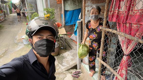 Diễn viên Minh Luân, Lê Minh Thành về quê, tham gia chống dịch - Ảnh 2.