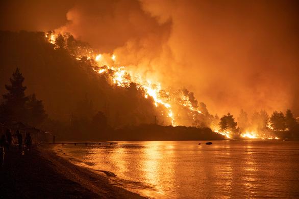 Thủ tướng Hy Lạp xin lỗi vì để cháy rừng như 'ngày tận thế' - Ảnh 2.