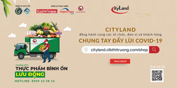 CityLand đồng hành cùng chương trình Thực phẩm bình ổn lưu động tại TP.HCM - Ảnh 1.
