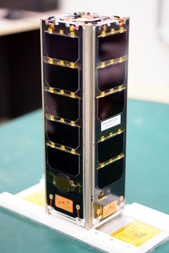 Vệ tinh NanoDragon Made in Vietnam lên đường sang Nhật - Ảnh 1.