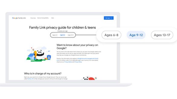 Một loạt công cụ và chính sách mới bảo vệ trẻ em của Google cần biết - Ảnh 1.