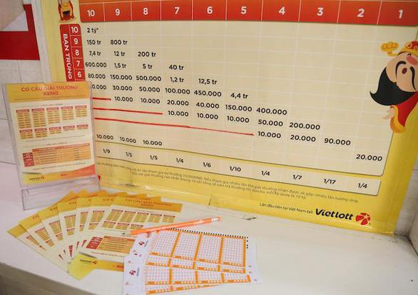 Vietlott phát hành trở lại xổ số Keno tại 40 tỉnh, thành phố - Ảnh 1.