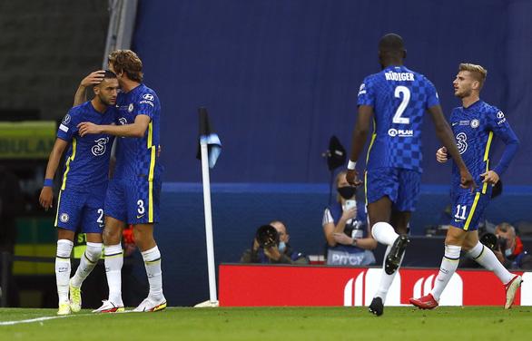 Chelsea đoạt Siêu cúp châu Âu 2021 sau loạt 'đấu súng' cân não - Ảnh 2.