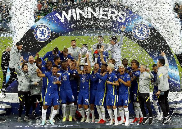 Chelsea đoạt Siêu cúp châu Âu 2021 sau loạt 'đấu súng' cân não - Ảnh 1.