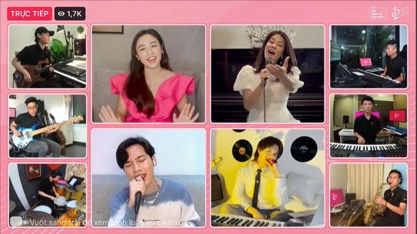 Ca sĩ Thu Phương, Văn Mai Hương, Nguyễn Trần Trung Quân ngồi nhà hát Rồi mình sẽ gặp nhau - Ảnh 2.