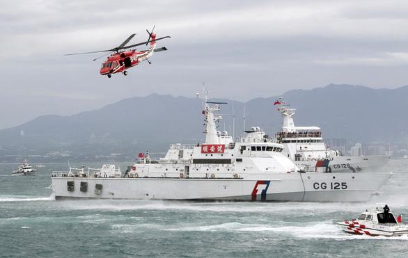Tuần duyên Mỹ - Đài Loan đẩy mạnh hợp tác, có thể gồm cả tập trận - Ảnh 1.