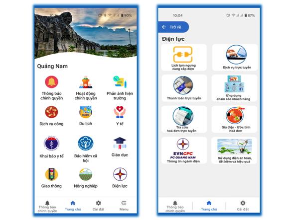 Triển khai chuyên mục Điện lực trên ứng dụng Smart Quảng Nam - Ảnh 1.