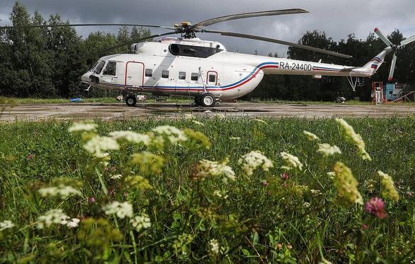 Trực thăng Mi-8 chở 16 người rơi ở Nga - Ảnh 1.