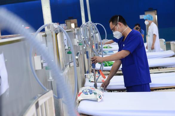 Chuyển Trường THPT Phú Nhuận thành bệnh viện dã chiến 350 giường - Ảnh 5.