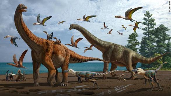 Trung Quốc từng có khủng long khổng lồ dài hơn 20 mét - Ảnh 1.