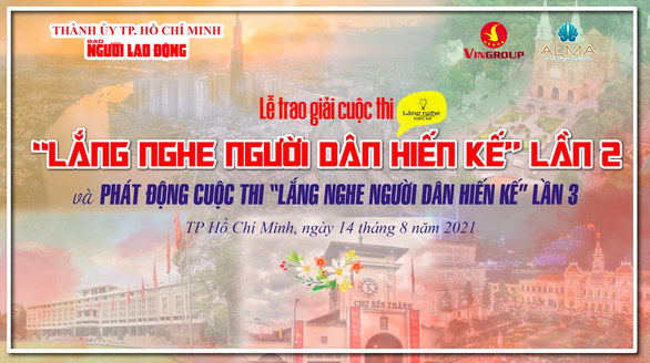 Báo Người Lao Động vinh danh 6 ý tưởng đoạt giải cuộc thi Lắng nghe người dân hiến kế lần 2 - Ảnh 1.