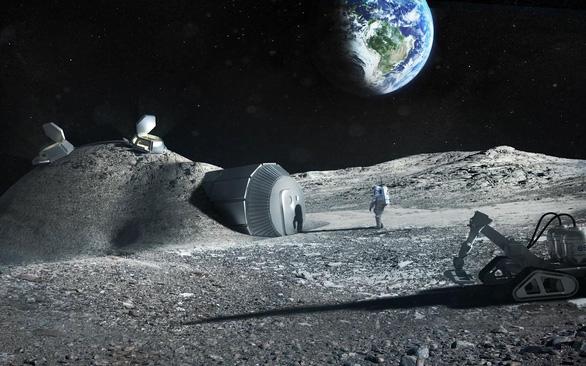 Giấc mơ định cư trên Mặt trăng - Ảnh 1.