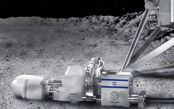 1 tấn đất Mặt trăng chiết xuất 250kg oxy, công ty Nhật, Israel sẽ tạo không khí trên Mặt trăng - Ảnh 1.