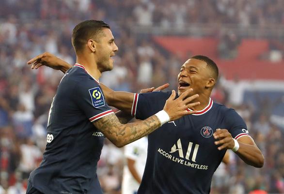 Messi không đá, Mbappe tỏa sáng đưa PSG lên đầu bảng - Ảnh 3.