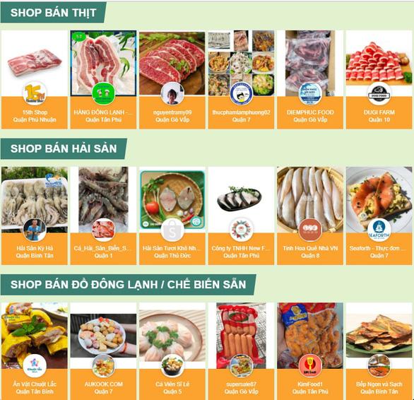 Muôn kiểu mua thực phẩm trong thời gian giãn cách - Ảnh 3.