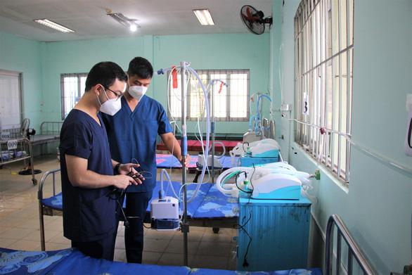 Bình Chánh đưa vào hoạt động bệnh viện dã chiến 1.000 giường - Ảnh 1.