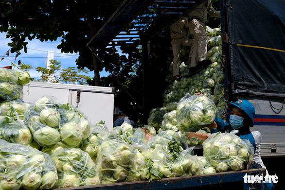 Đà Nẵng: 157 tấn rau củ được tài trợ đã đến quận Sơn Trà - Ảnh 2.