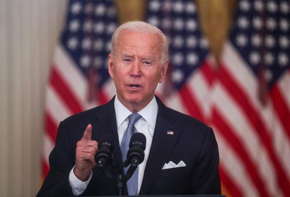 Tổng thống Mỹ Joe Biden: rút quân khỏi Afghanistan đau nhưng đúng - Ảnh 1.