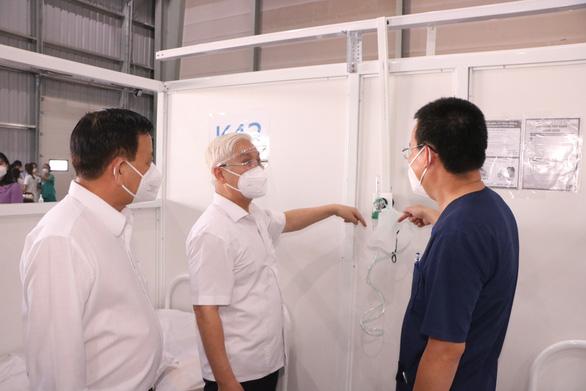 Hôm nay 16-8 Bộ Y tế làm việc với TP.HCM, Bình Dương gấp rút mở rộng khu điều trị Thới Hoà - Ảnh 1.