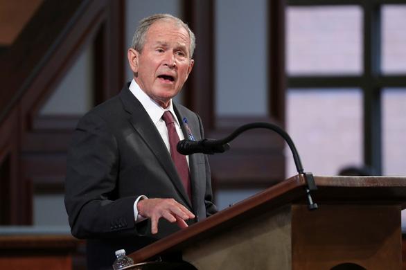 Cựu tổng thống George W. Bush lên tiếng về tình hình Afghanistan - Ảnh 1.