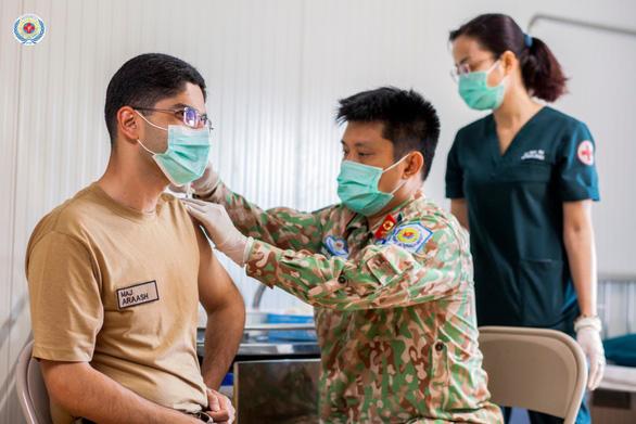 Bệnh viện dã chiến 2.3 hỗ trợ tiêm chủng vắc xin COVID-19 tại Nam Sudan - Ảnh 1.