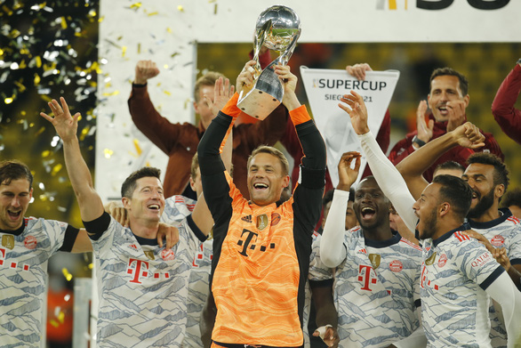 Bayern Munich đoạt Siêu cúp Đức 2021, Haaland câm lặng - Ảnh 1.