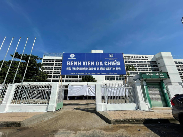 Trung tâm triển lãm và hội chợ Tân Bình thành bệnh viện dã chiến 3 tầng, quy mô 1.000 giường - Ảnh 1.