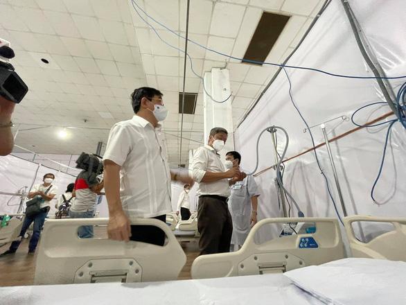Trung tâm triển lãm và hội chợ Tân Bình thành bệnh viện dã chiến 3 tầng, quy mô 1.000 giường - Ảnh 2.