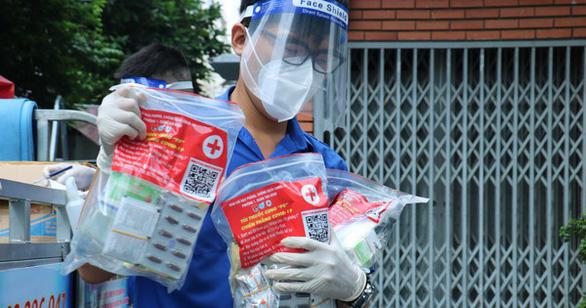 TP.HCM dự báo có 182.408 ca F0 cách ly tại nhà trong tháng tới, cần 182.408 túi thuốc - Ảnh 1.
