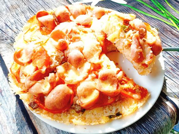 Món chuẩn Mom ngon không thể ngờ: Pizza cơm nguội - Ảnh 11.