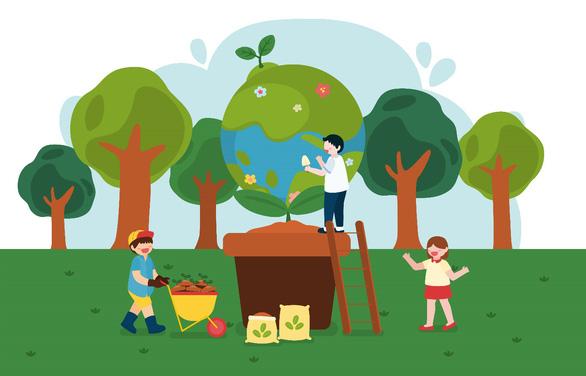 Dạy trẻ về môi trường qua chiếc ống hút giấy - Ảnh 4.