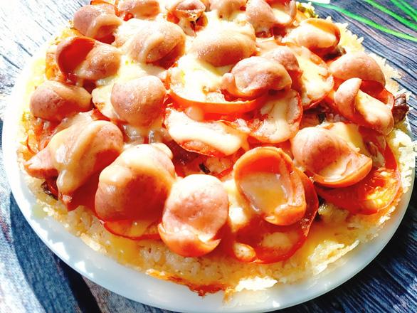 Món chuẩn Mom ngon không thể ngờ: Pizza cơm nguội - Ảnh 9.