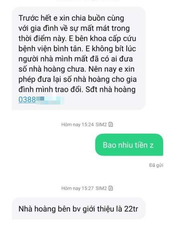 Giám đốc Bệnh viện Bình Tân: 'Chỉ thu tạm ứng viện phí, sẽ trả lại cho người nhà bệnh nhân - Ảnh 2.