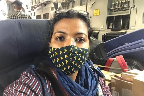 24 giờ chạm mặt Taliban của nữ nhà báo Ấn Độ - Ảnh 1.