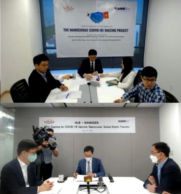 Công ty Hàn Quốc muốn mua quyền cung cấp vắc xin Nanocovax - Ảnh 1.