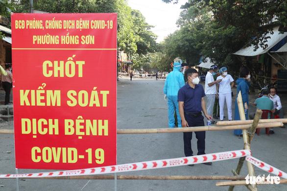 Phát hiện thêm 22 ca COVID-19 cộng đồng, Nghệ An sẽ lập thêm 2 bệnh viện dã chiến - Ảnh 1.