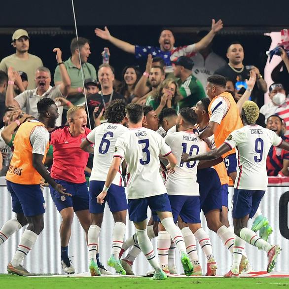 Mỹ lần thứ 7 đăng quang Gold Cup nhờ bàn thắng phút 118 của Robinson - Ảnh 1.