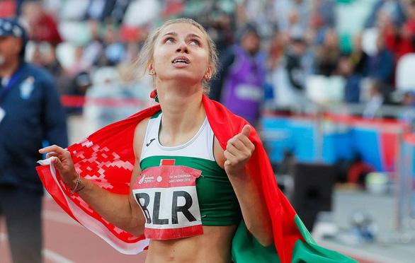 Ba Lan cấp visa nhân đạo cho người đẹp điền kinh Belarus bị ép rời Olympic Tokyo - Ảnh 1.