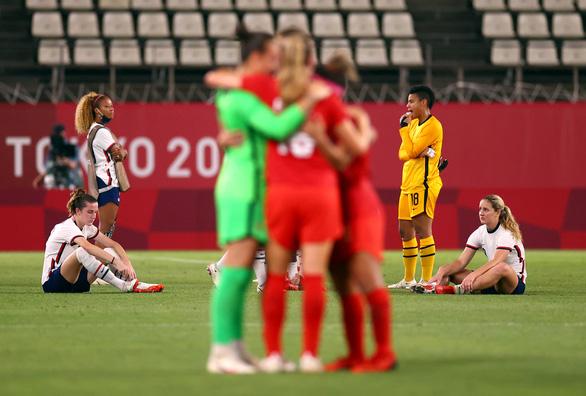 Bóng đá nữ Olympic Tokyo: Thất bại trước Canada, Mỹ mất cơ hội tranh huy chương vàng - Ảnh 2.