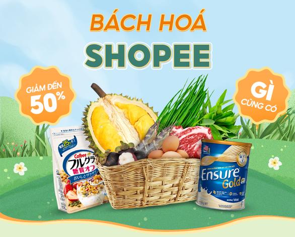 Nhiều ưu đãi giảm giá đến 50% cho nhóm hàng tiêu dùng thiết yếu tại Shopee Mart - Ảnh 5.