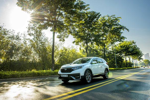 Nhận ngay ưu đãi 100% lệ phí trước bạ khi mua Honda CR-V trong tháng 8-2021 - Ảnh 2.