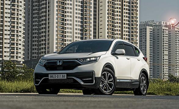 Nhận ngay ưu đãi 100% lệ phí trước bạ khi mua Honda CR-V trong tháng 8-2021 - Ảnh 3.